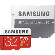 Samsung MicroSDXC 32GB EVO Plus + SD Adapter - Memory Card