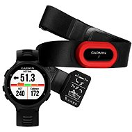Garmin Forerunner 735XT Black & Grey Run Bundle - Sports Watch