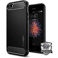 SPIGEN Rugged Armor Black iPhone SE / 5s / 5 - Protective Case