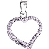 Swarovski Elements Violet 34093.3 (925/1000; 6.2 g) - Charm