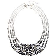 Gray Pearl Necklace 32010.3 - Necklace