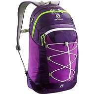 Salomon Contour 25 Cosmic purple / purple aster / gr - Sports backpack