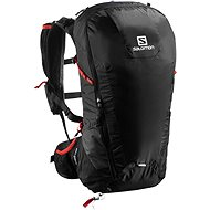 Salomon Peak 30 black / bright red - Sports backpack