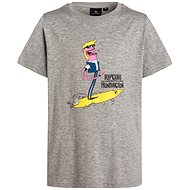 Rip Curl Mixed Arty SS Tee Cement Marle size 16 - T-Shirt