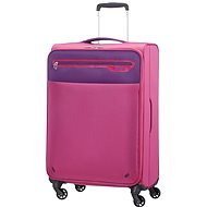 American Tourister Lightway 4-Wheel 67cm Medium Spinner Suitcase Pink/Purple - Suitcase