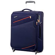 American Tourister Pikes Peak Upright 55 Carbon Blue - Suitcase with TSA-Approved Lock
