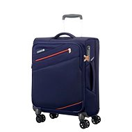 American Tourister Pikes Peak Spinner 55 Carbon Blue - Suitcase with TSA-Approved Lock