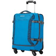 American Tourister Road Quest Spinner Duffle 55 Bluestar Print - Suitcase
