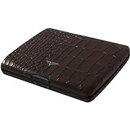Tru Virtu Papers & Cards Ray leather - Croco Brown - Wallet