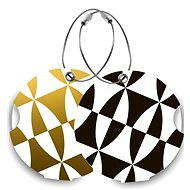 Suitsuit DUOPACK Black and Gold - Luggage Tags