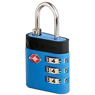TravelBlue TB037 blue - TSA-approved suitcase lock