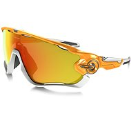 Oakley Jawbreaker Atomic orange/fire iridium pol - Glasses