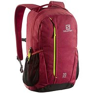 Salomon WANDERER 20 Chine red / green gecko - Backpack