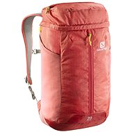 Salomon coral hallmark CONTOUR 20 / melon bloo / green gecko - Backpack