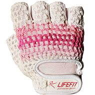 Lifefit Fit pink / white size M - Gloves