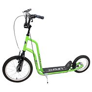 "Lifefit Rider 16""/12"" ; green / black - Scooter"