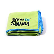 Born To Swim Microfibre green - Towel
