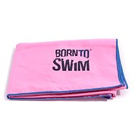 Born To Swim microfibre pink - Towel