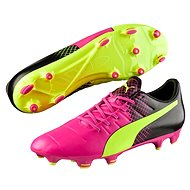 Puma Evo Power 3.3 FG-glo pink safet vel. 10 - Football Boots