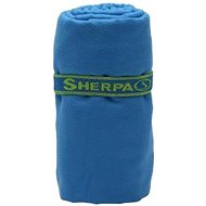 Sherpa Dry Towel blue L - Towel