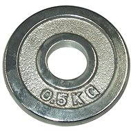 Acra chrome weights 0.5 kg / 25 mm rod - Disc