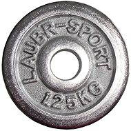 Acra chrome weights 1.25 kg / 25 mm rod - Disc