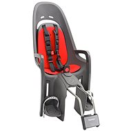 Hamax Caress Zenith anthracite / red - Child's bike seat