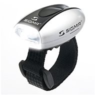 Sigma Micro silver / front light LED-white - Bicycle light