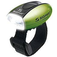 Sigma Micro green / front light LED-white - Bicycle light