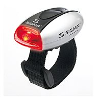Sigma Micro silver / rear light LED-red - Bicycle light