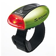 Sigma Micro Green / Backlight LED-Red - Bicycle light