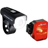 Sigma Lightster USB + Nugget Flash - Bicycle light