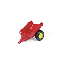 Tractor 1-axis trailer - red - Pedal Tractor