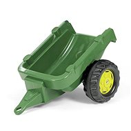 Tractor trailer 1 axis - dark green - Pedal Tractor
