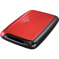 Tru Pearl Tru Card Case - Red Pepper - Wallet