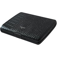 Tru Virtu Papers & Cards Ray leather - Croco Black - Wallet