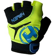 Haven Demo kid short green / blue - cycling gloves