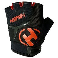 Haven Demo kid short black / red - cycling gloves