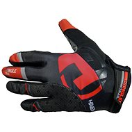 Haven Singletrail Long black / red - cycling gloves