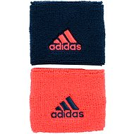Adidas Small Wristbands Coral / Blue - Wristband