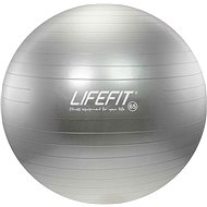 Lifefit anti-burst 65 cm, stříbrný - Gym Ball