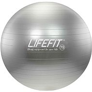 Lifefit anti-burst 75 cm, stříbrný - Gym Ball