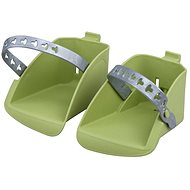 Polisport Koolah and Boodie Replacement Footrests, Green - Accessory