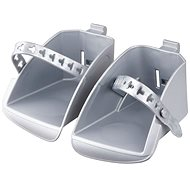 Polisport Koolah and Boodie Replacement footrests, silver - Accessory