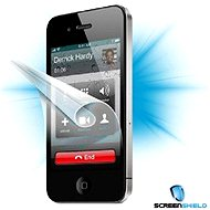 ScreenShield for iPhone 4 on the phone display - Screen protector