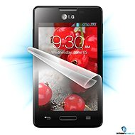 ScreenShield for the LG Optimus L4 II (E440) on the phone display - Screen protector