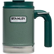 STANLEY Outdoor Classic Heater 470 ml green with ear and eye - Thermal Mug