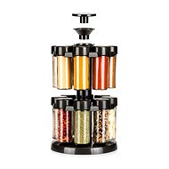 Tescoma in the swivel stand SEASON 16 pieces, anthracite - Spice Container Set
