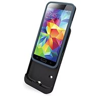 Tylt Energi Slide Power Case Samsung Galaxy S5 2850mAh Gray - Charger Case