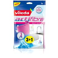 VILEDA Actifibre mikrohadřík 3 + 1 piece of 29 x 29 cm - Cloth
